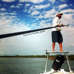 polling, platform, fly fishing, guide, saltwater, flats, charters