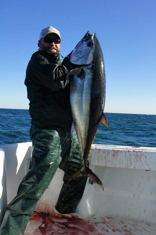 Fall Bluefin Tuna less than 1 hour from the dock