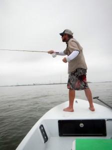 saltwater fly fishing, jacks, texas, coastal bend