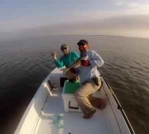 popping shrimp fly, redfish, flats, texas, fly fishing, coastal bend