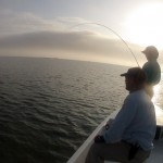 redfish, sunrise, fly fishing, texas, coastal bend, port aransas