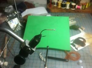 Fly Tying Step 1 - Thread Base