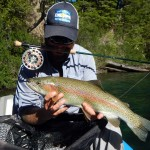 rainbow trout streamer flyfishing argentina patagonia river guides prg