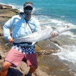 fly fishing, guide, port aransas, jetty, charters, king, mackerel, texas, coast