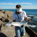 king mackerel, fly fishing, texas, coast, jetty, port aransas, corpus christi