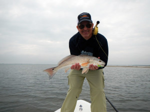 Dean with a redfish