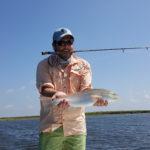redfish fly fishing port aransas texas coast gulf mexico