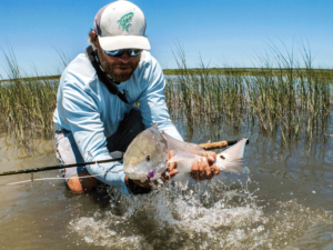 redfish, drum, fly fishing, port aransas, texas, coast, guide, saltwater, charter, airflo, sims, hatch, beavertail